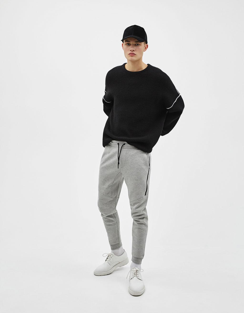Jogger hlače iz piquéja