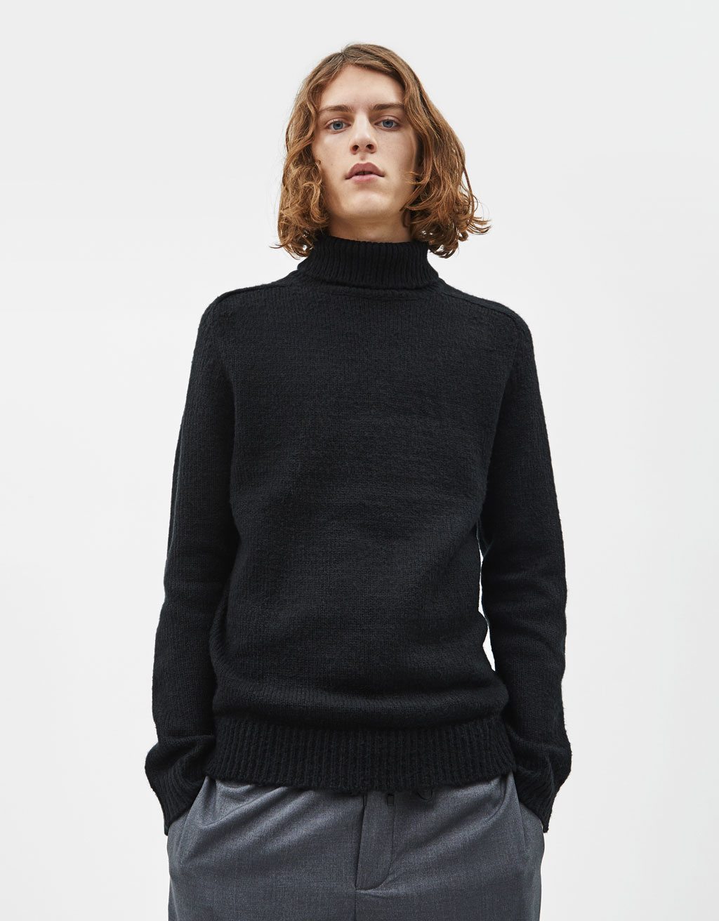 dae30fc1fabf7a Knitwear - COLLECTION - MEN - Bershka United States