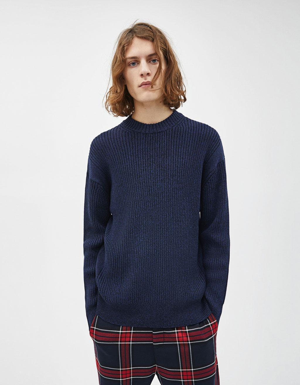 Sweater de malha - Best Sellers ⭐ - Bershka Portugal 17f69b6294a