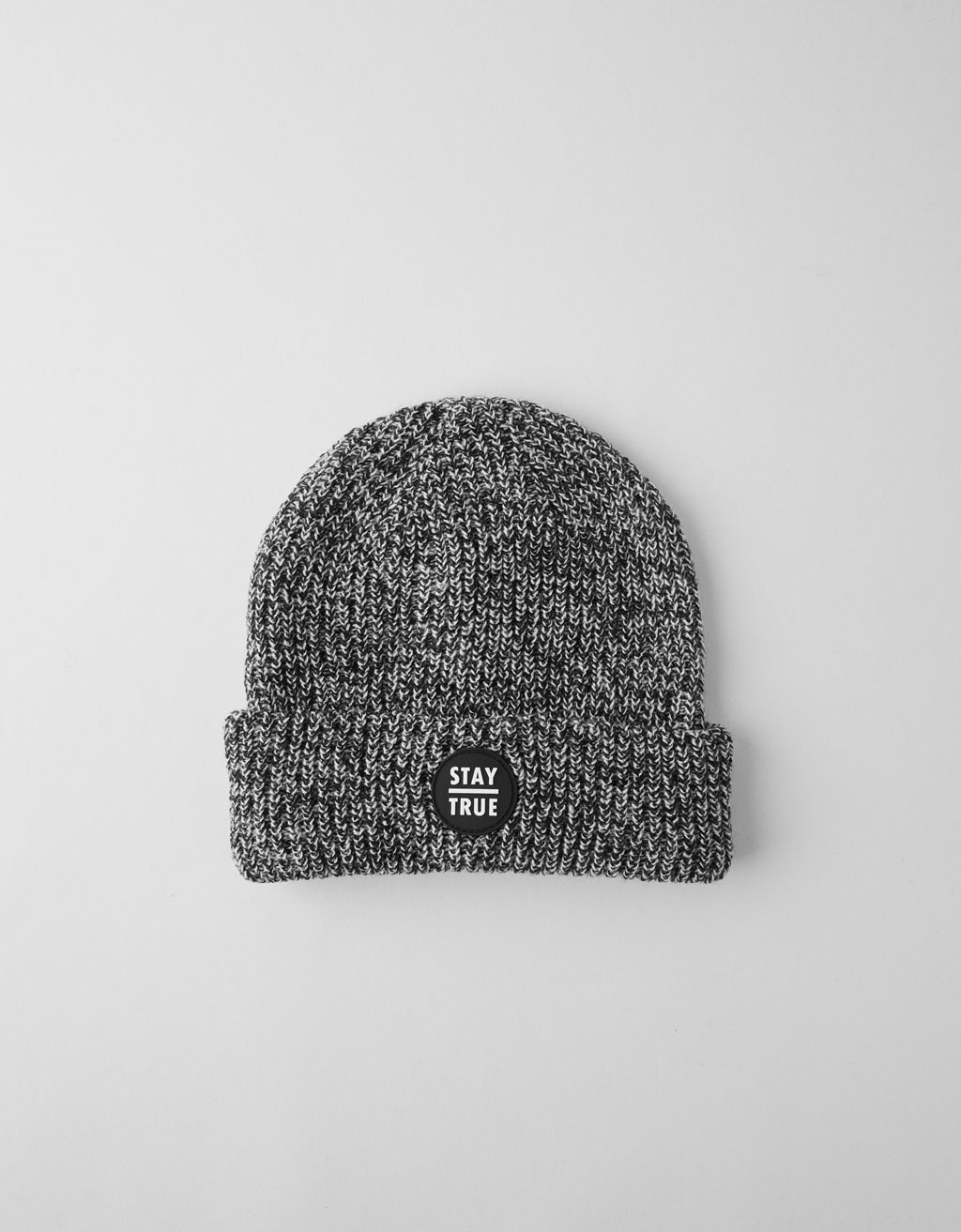 Beanie with patch