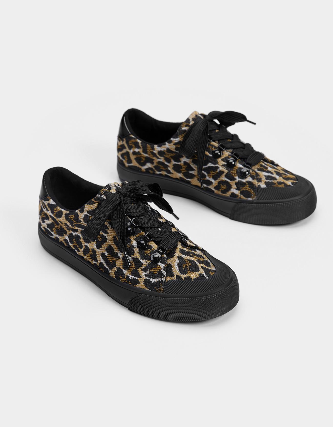 c721f3959df5 Animal print trainers - Shoes - Bershka United States