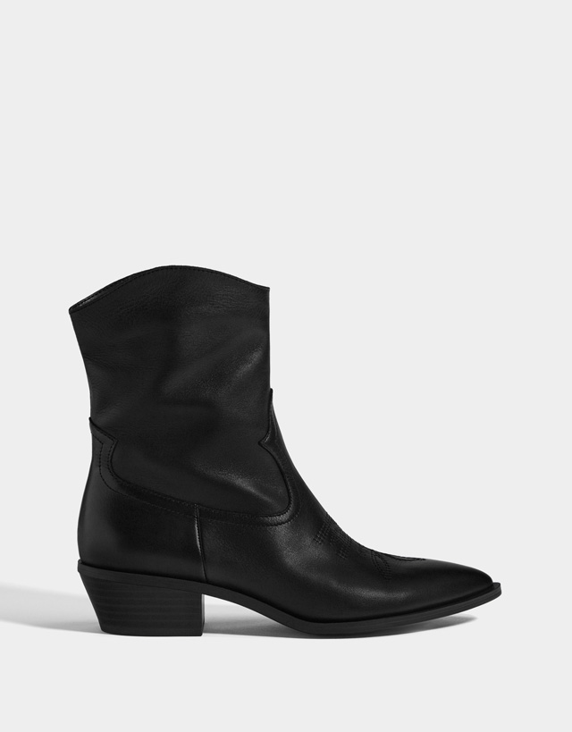 04622a0a5374 Boots   Ankle boots - Shoes - COLLECTION - WOMEN - Bershka United ...