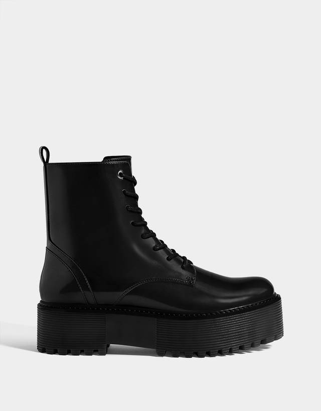 5a3fe675c Ankle boots - Shoes - COLLECTION - WOMEN - Bershka United Kingdom