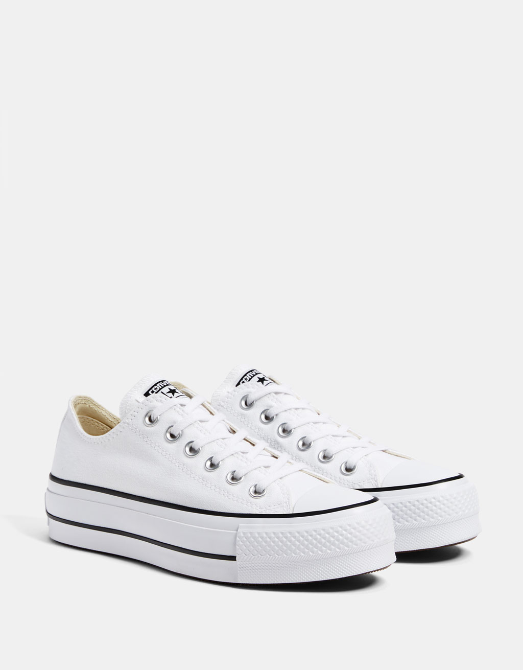 3ecdd7cb42e3 CONVERSE CHUCK TAYLOR ALL STAR platform trainers - SHOES - Bershka Spain -  Canary Islands