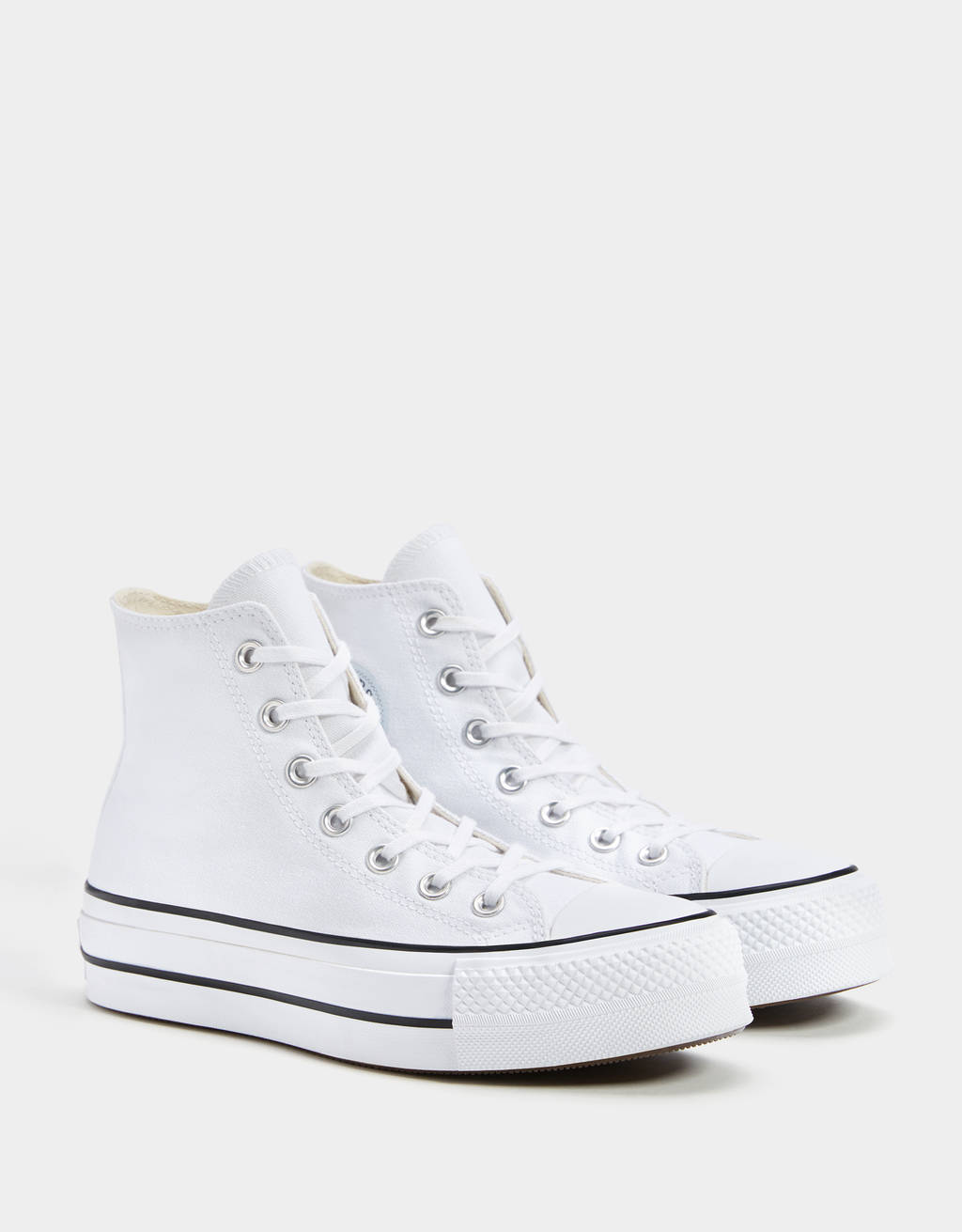 CONVERSE CHUCK TAYLOR ALL STAR platform high-top trainers