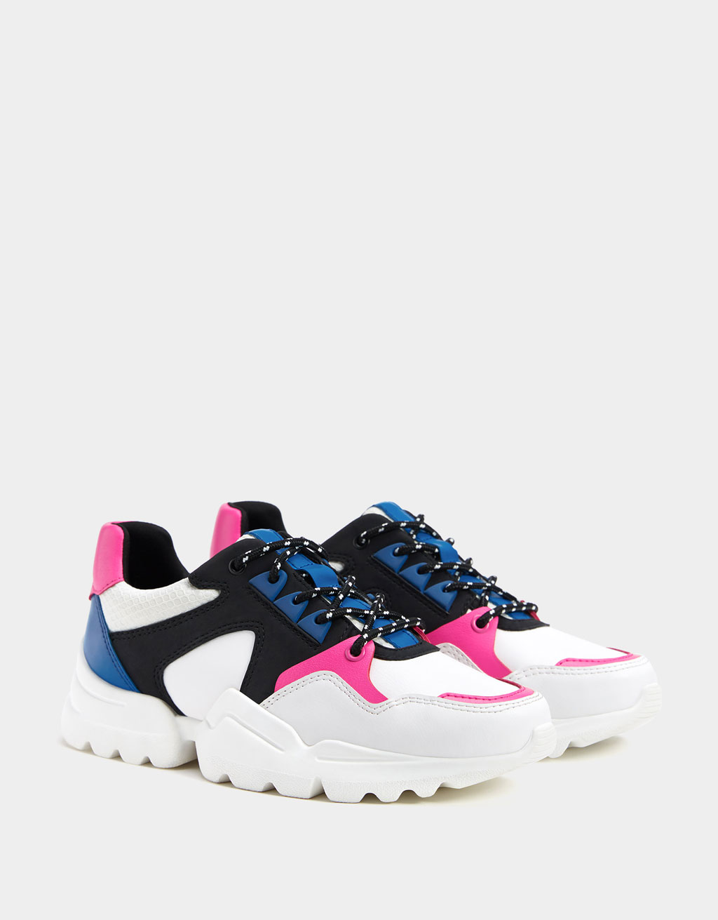 Multi-piece platform trainers