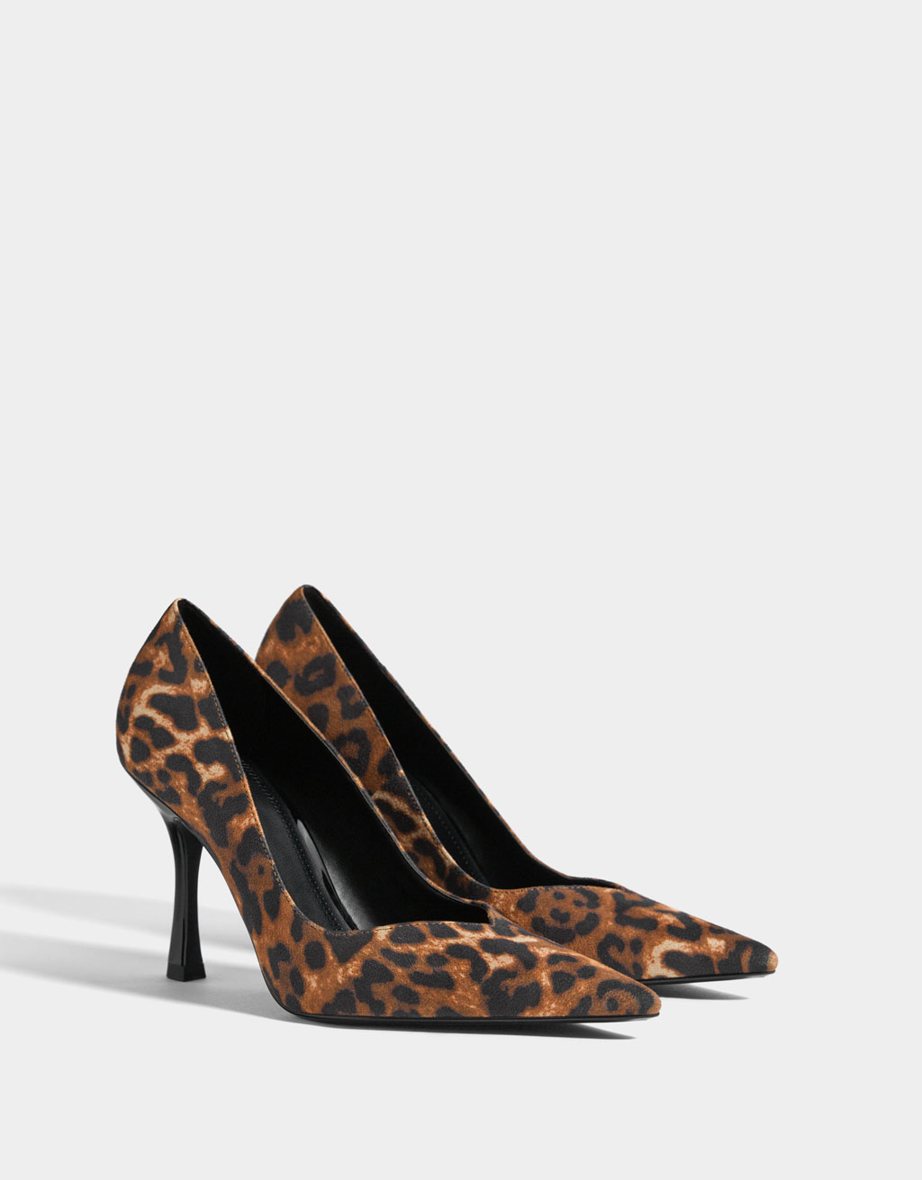 Escarpins talon aiguille animal print