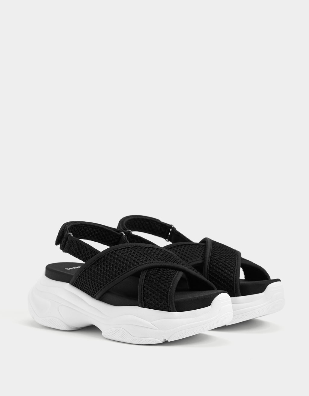 ff9f742ed Flat Sandals - Shoes - COLLECTION - WOMEN - Bershka Greece