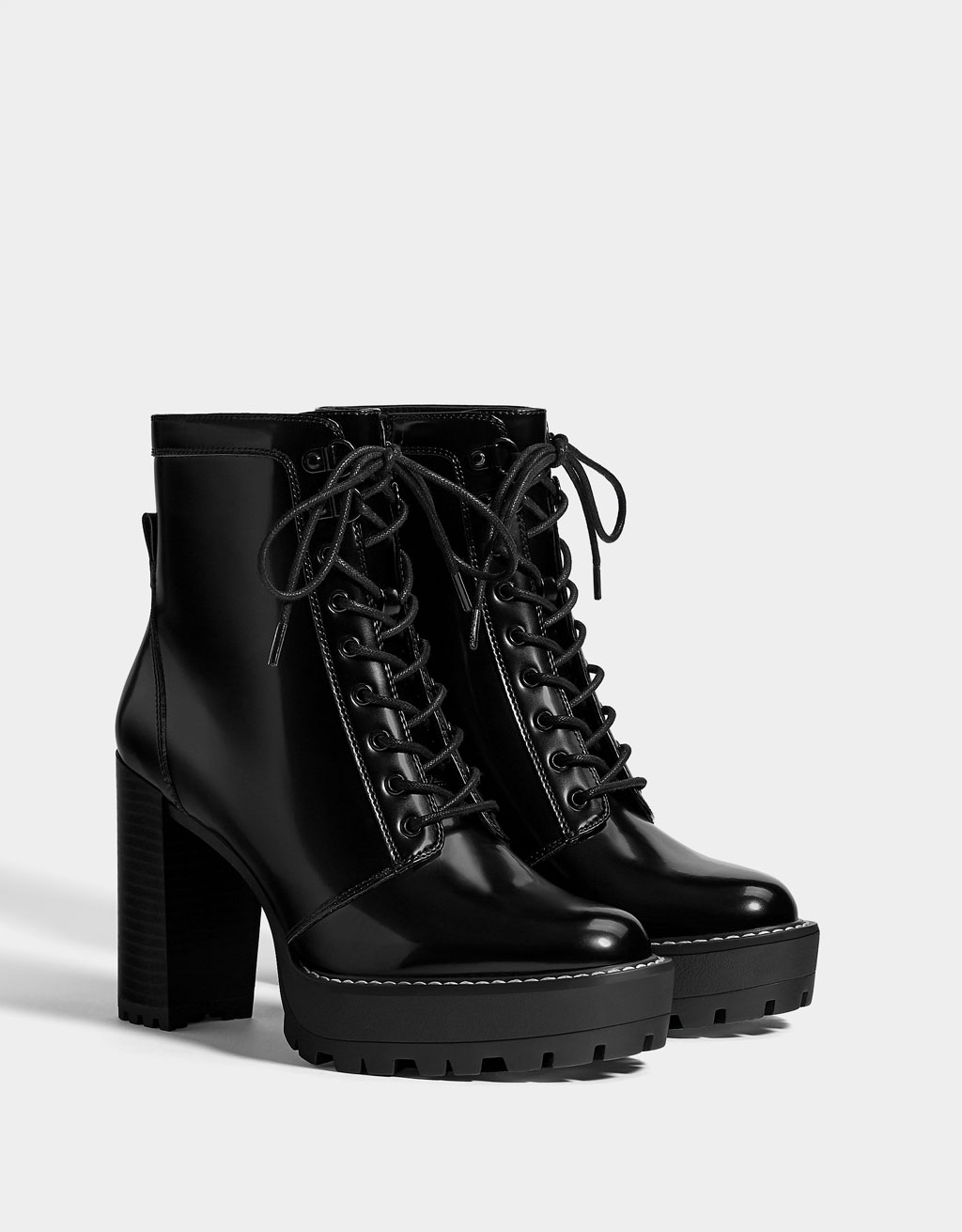 fd6ac84ebc89 Boots   Ankle boots - Shoes - COLLECTION - WOMEN - Bershka United ...