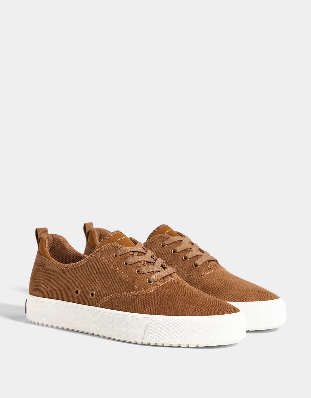 Corduroy herensneakers