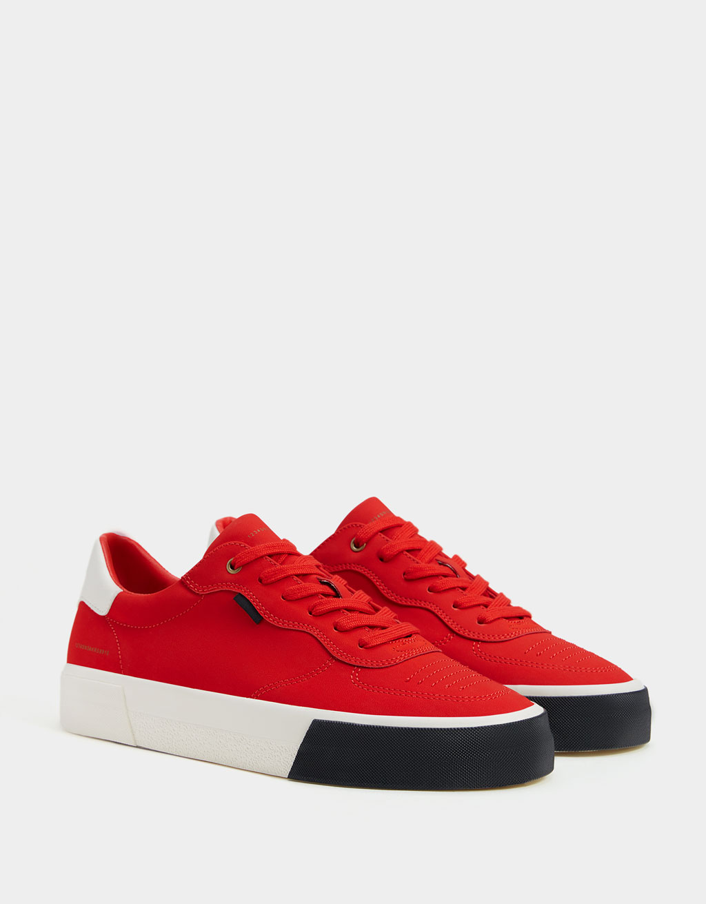 Men's contrast trainers