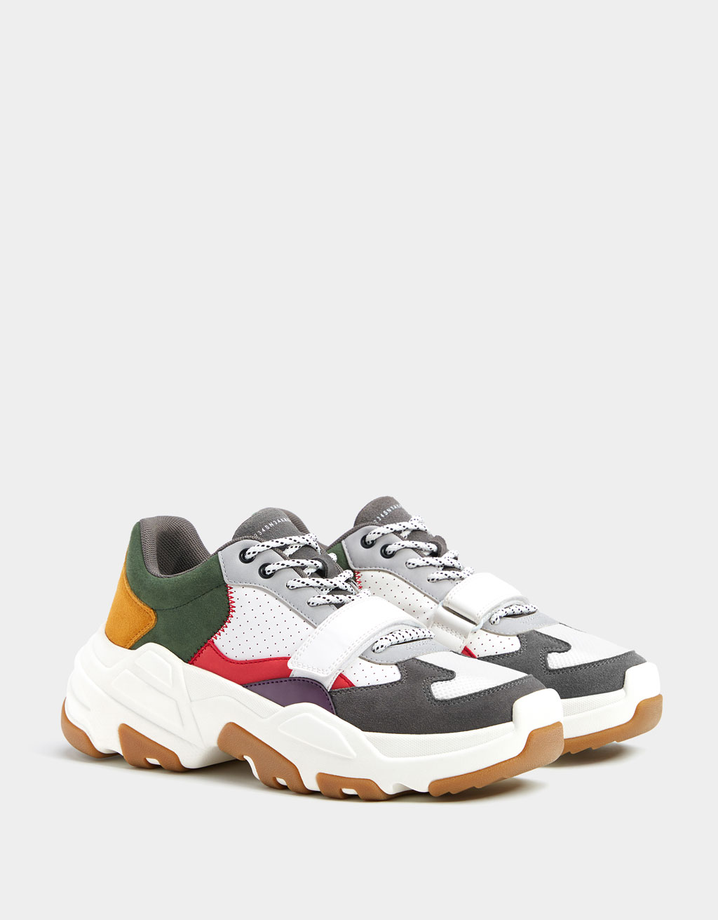 Sneakers multicolores homme
