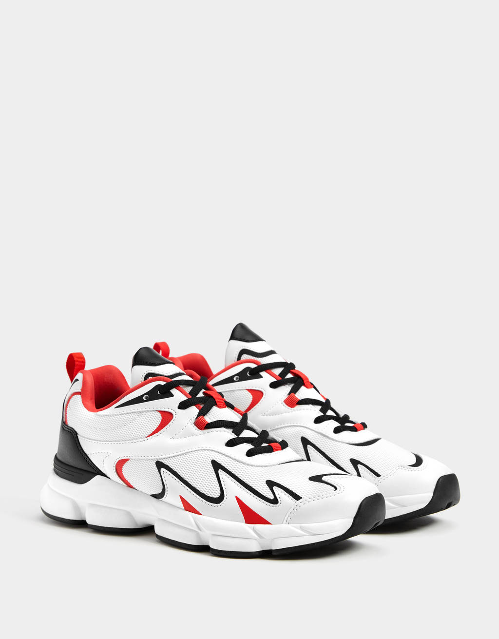 Men's flame trainers