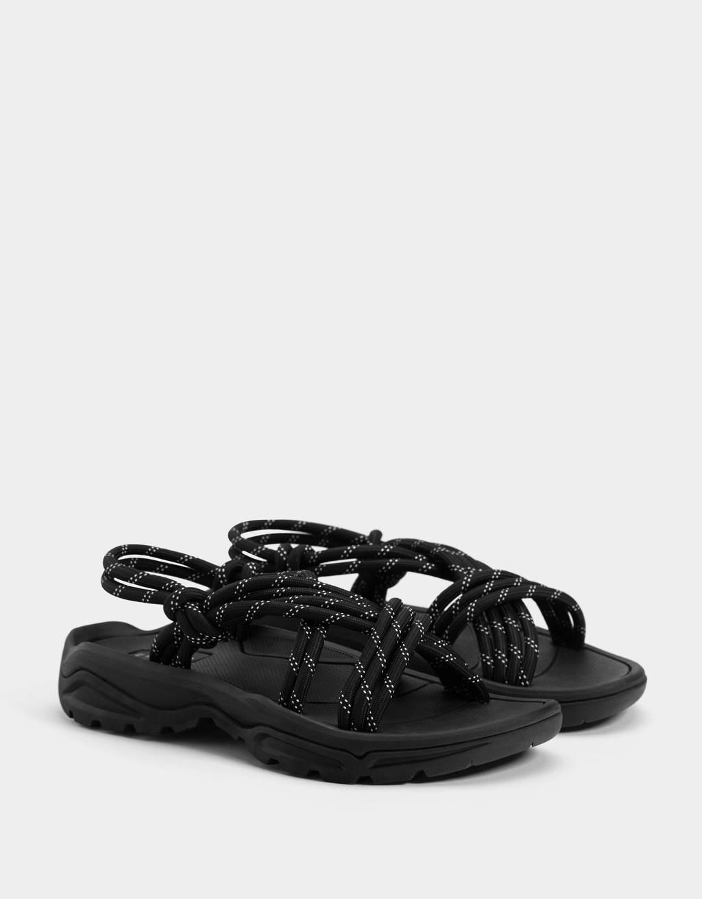 Sandales techniques corde homme