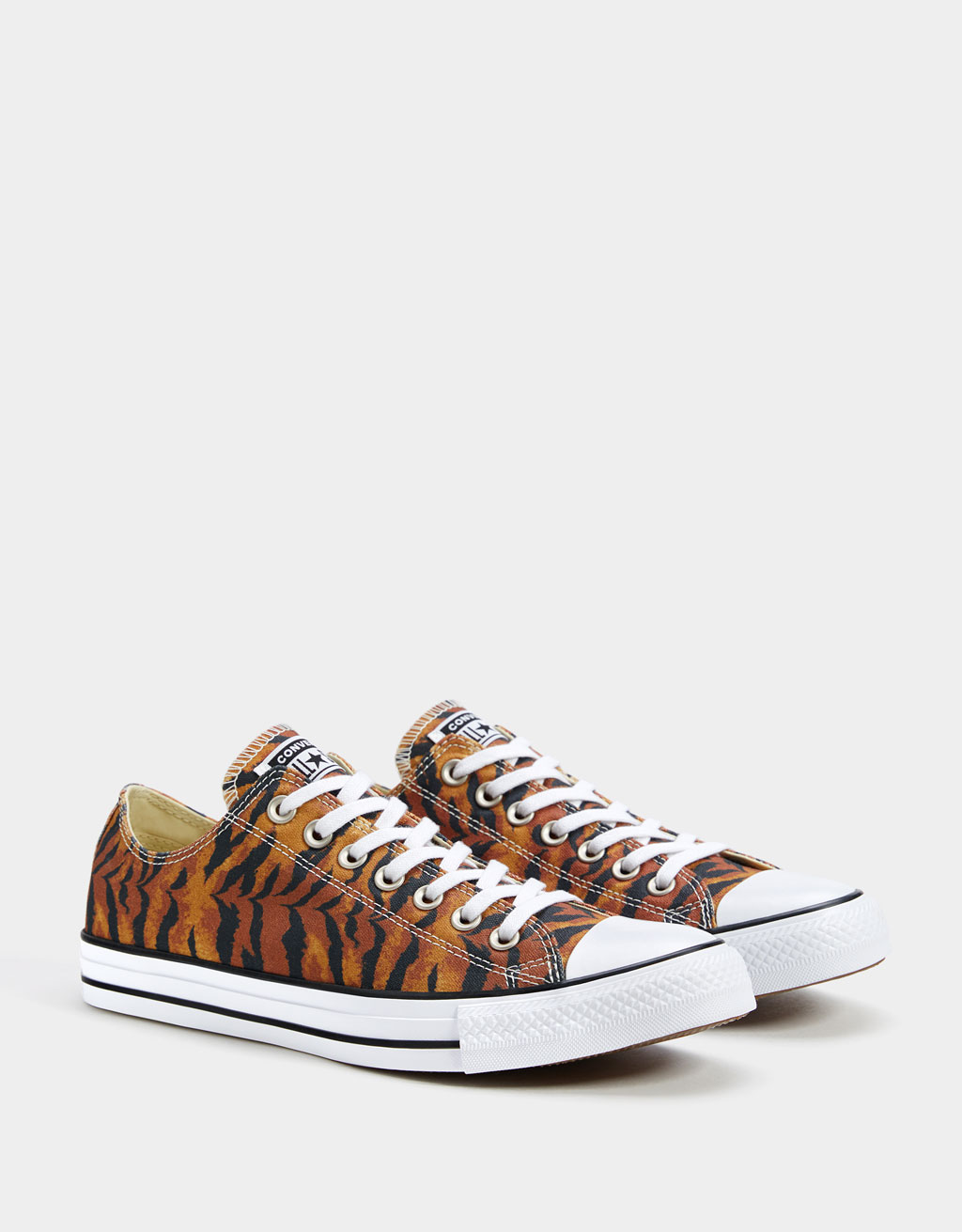 Sabatilles estampat animal CONVERSE ALL STAR home