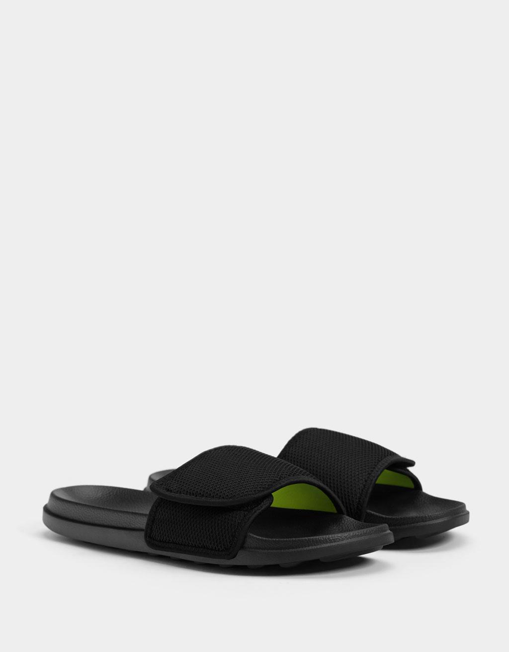 Мъжки сандали с мрежеста предна част