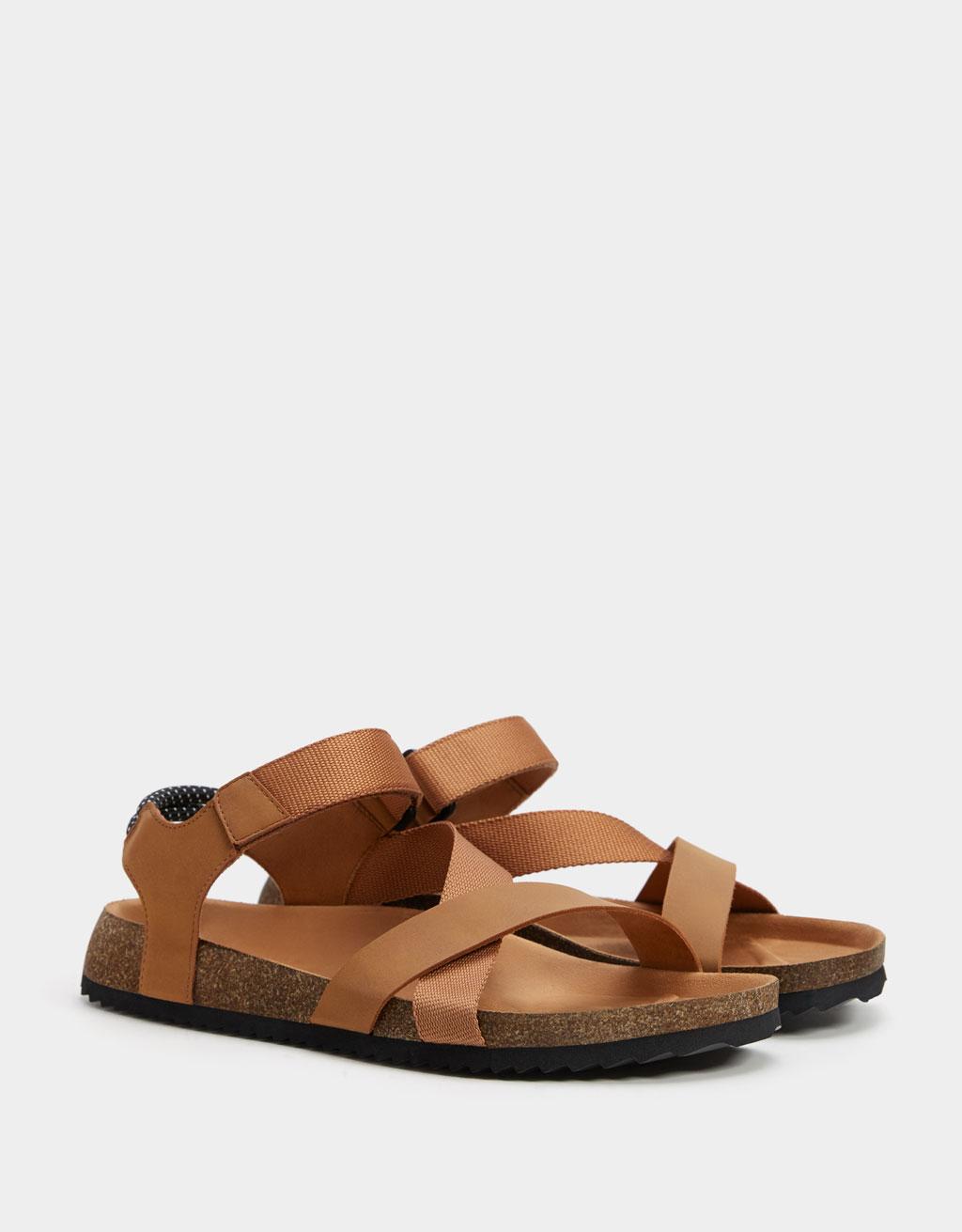 Men's multi-strap sandals