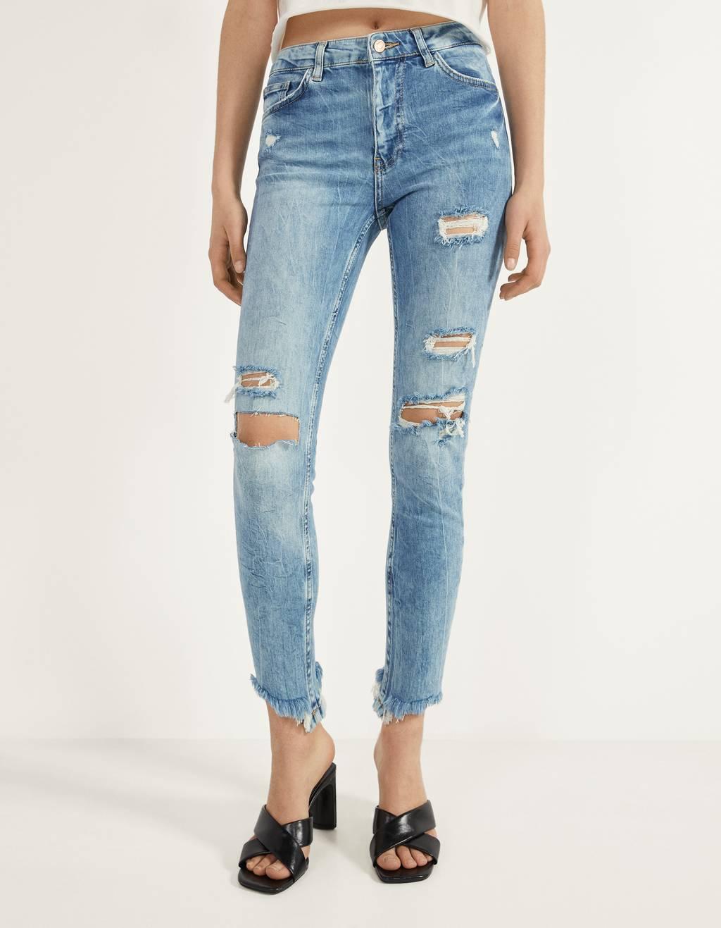 Jeans Skinny Fit Mid Waist