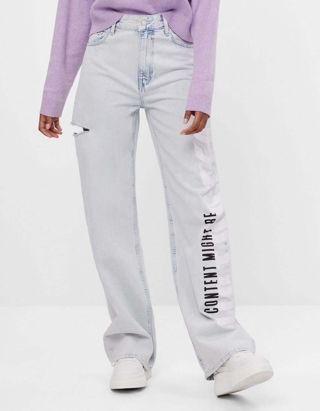 UV React straight fit jeans - Woman