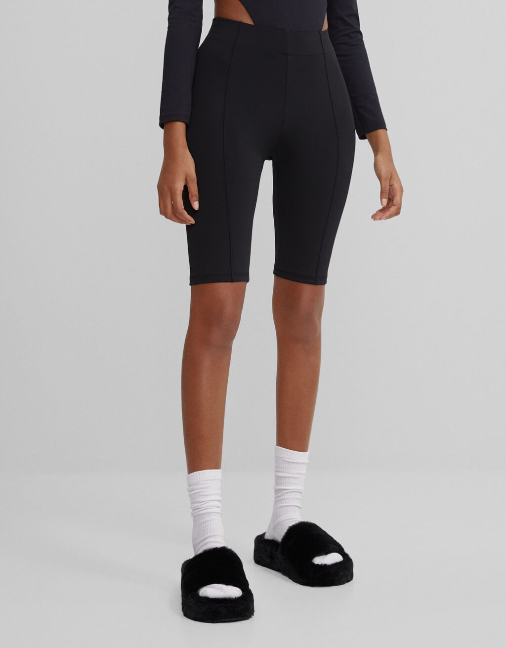 Neoprene cycling shorts