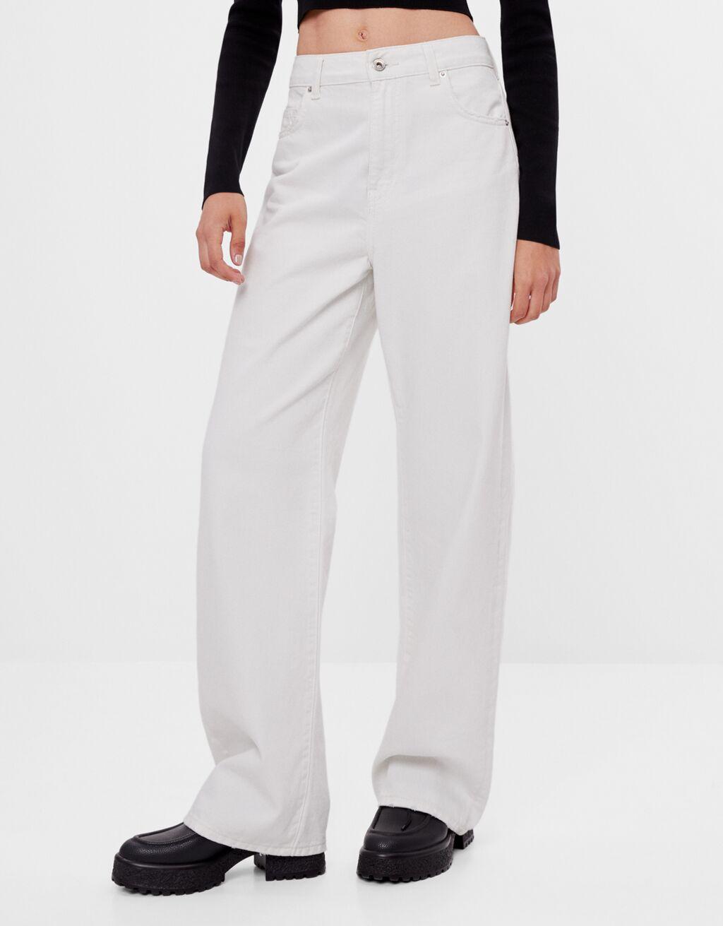 Wide-leg jeans