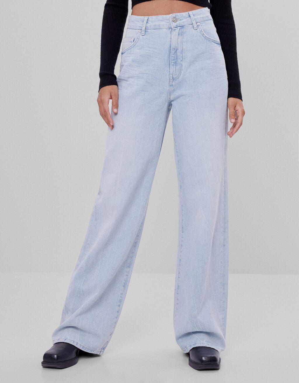 Jeanși Wide Leg