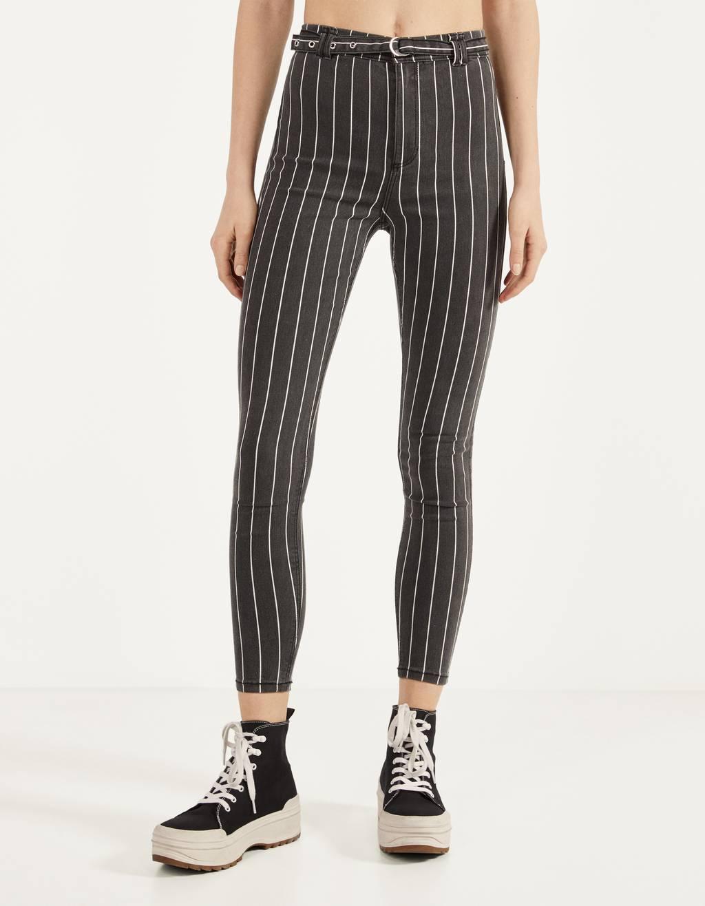 Pantalón High Waist con cinto