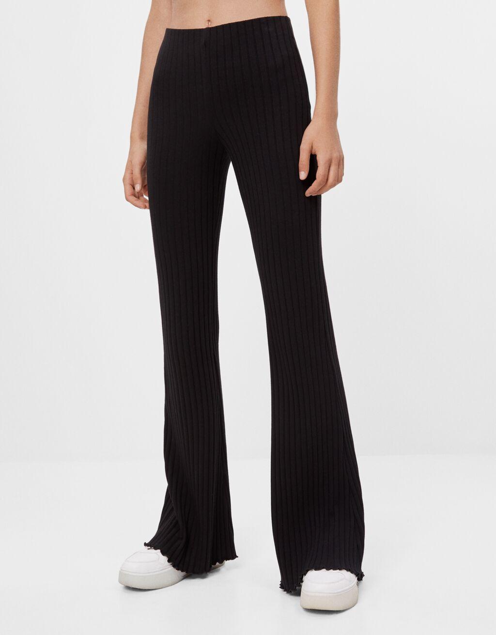 Pantalon coupe flare