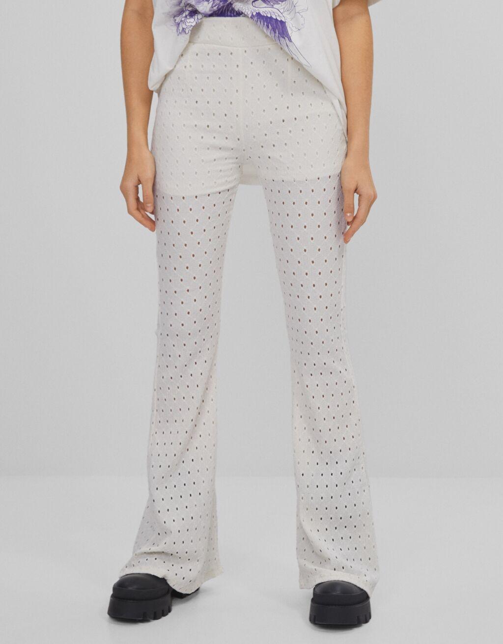 Pantalón Flare Fit
