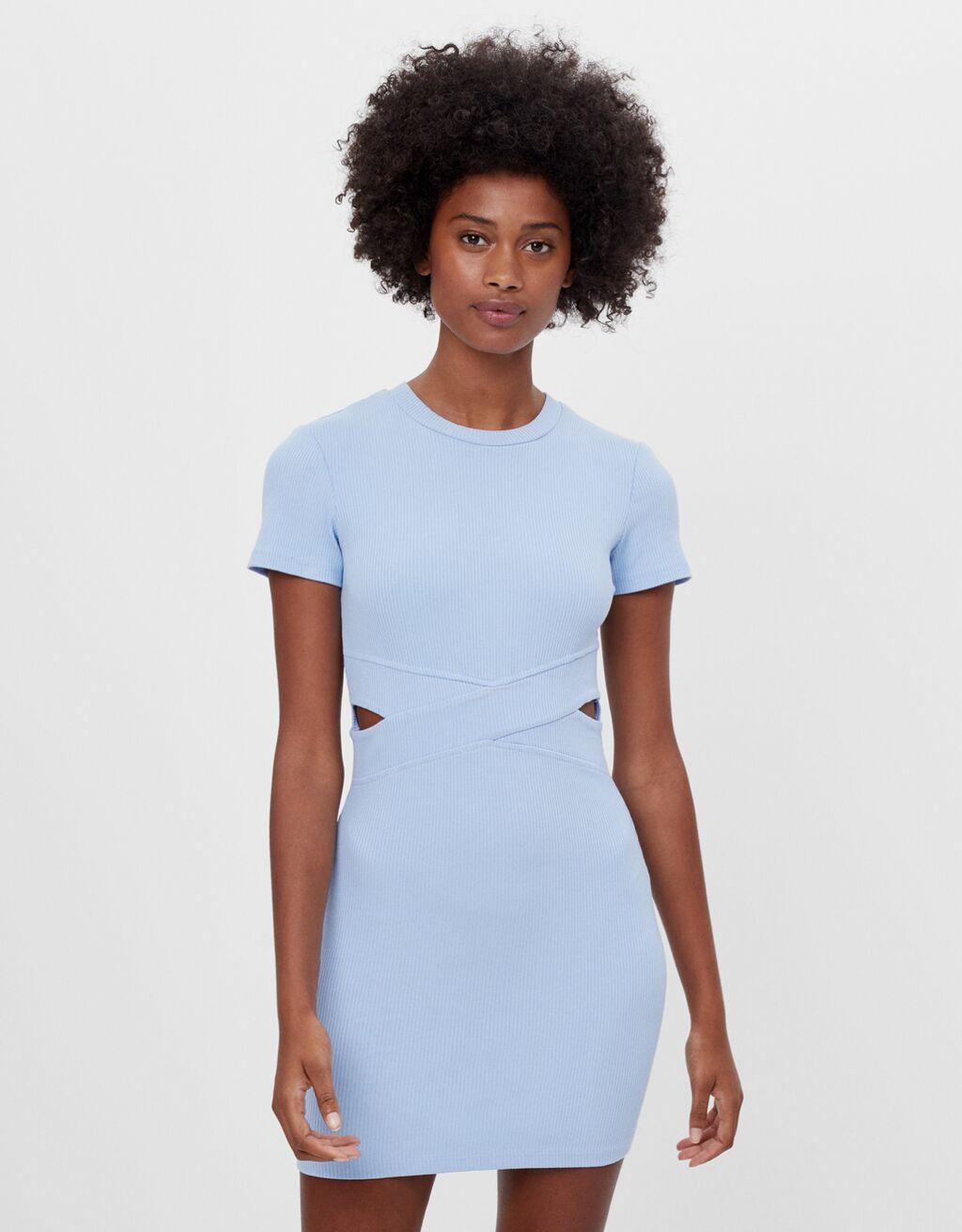 Short cut-out dress