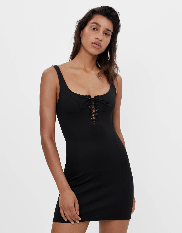 Short corset-style dress