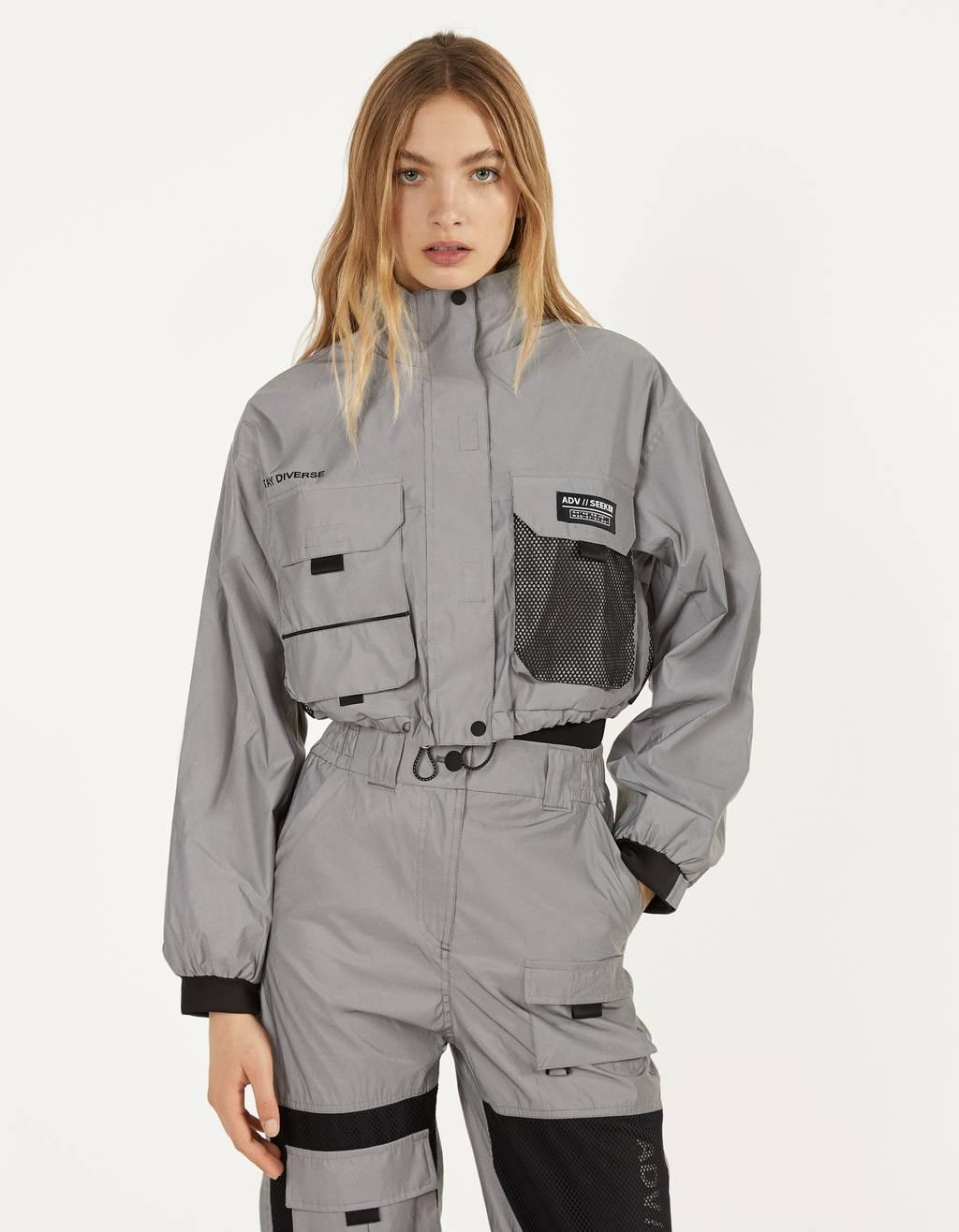 Куртка со светоотражающими деталями