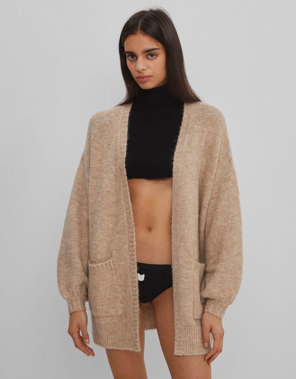 Full sleeve knit cardigan
