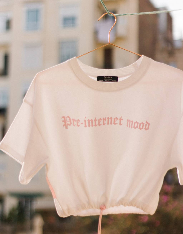 Sweatshirt T-shirt with print