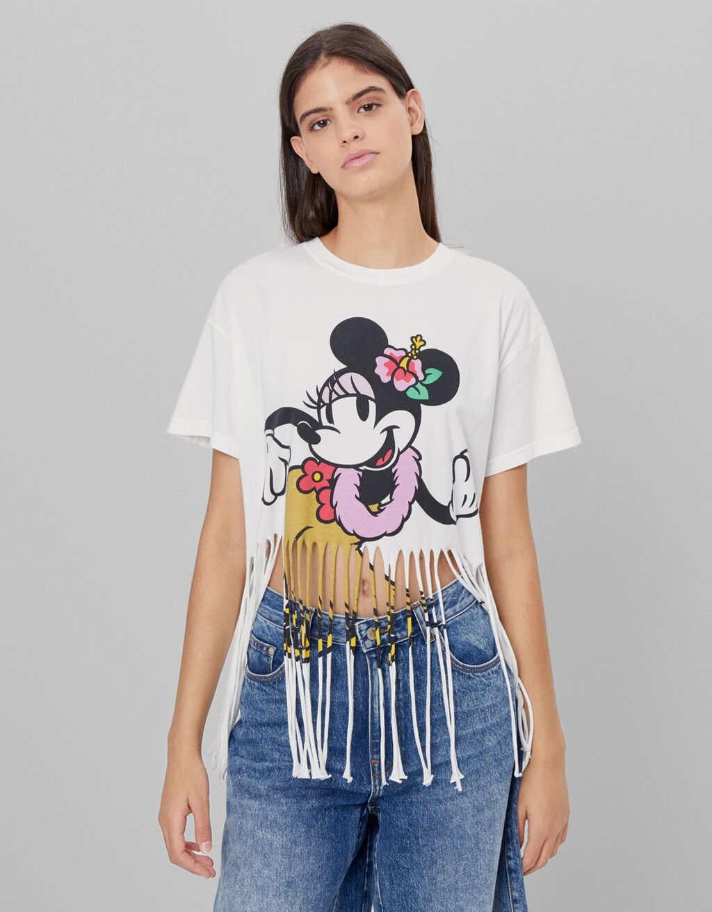T-shirt Minnie franges