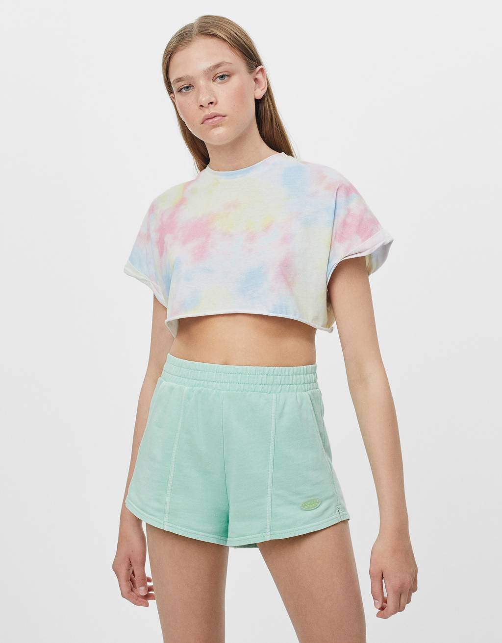 Camiseta super cropped