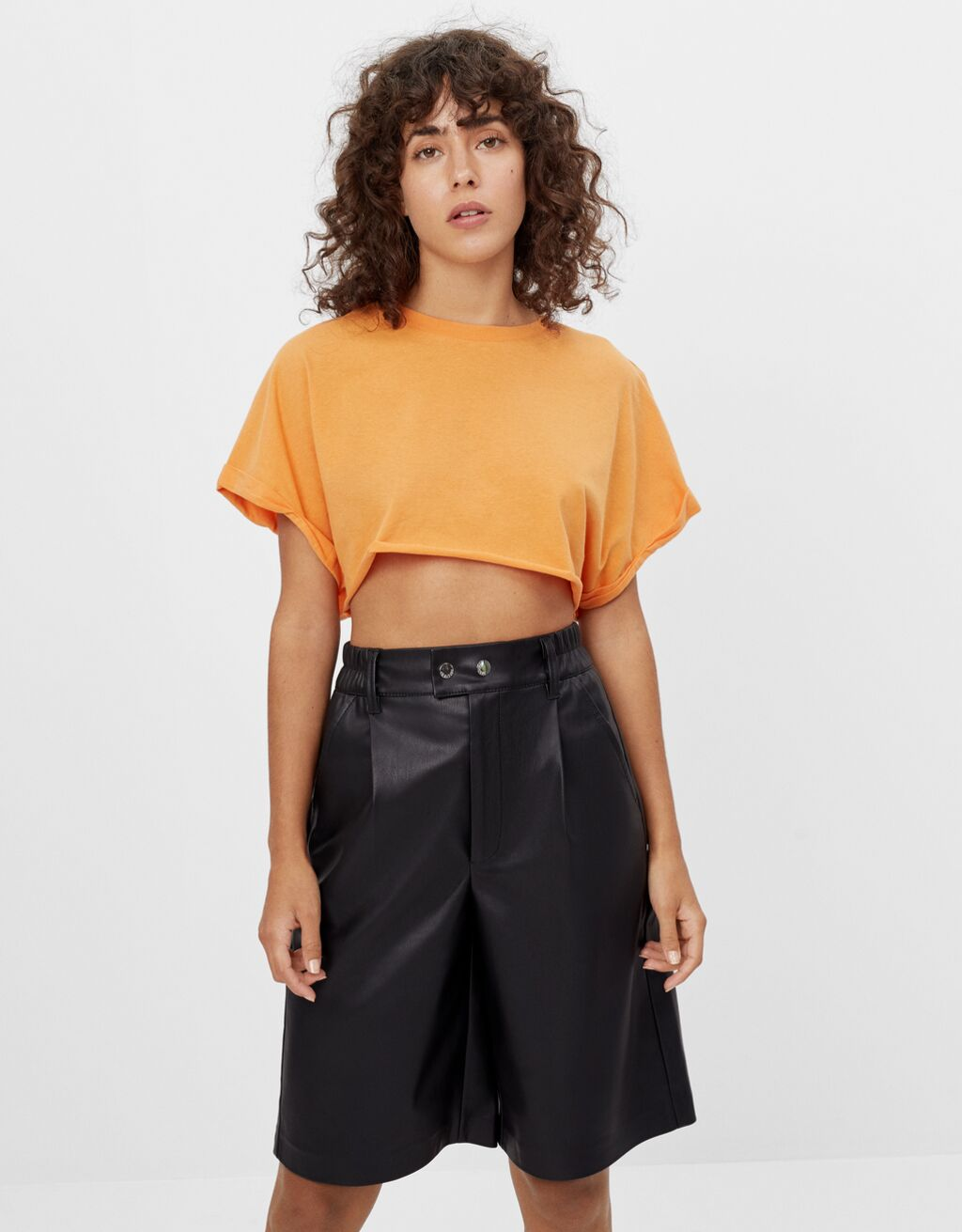 Super Cropped-T-Shirt