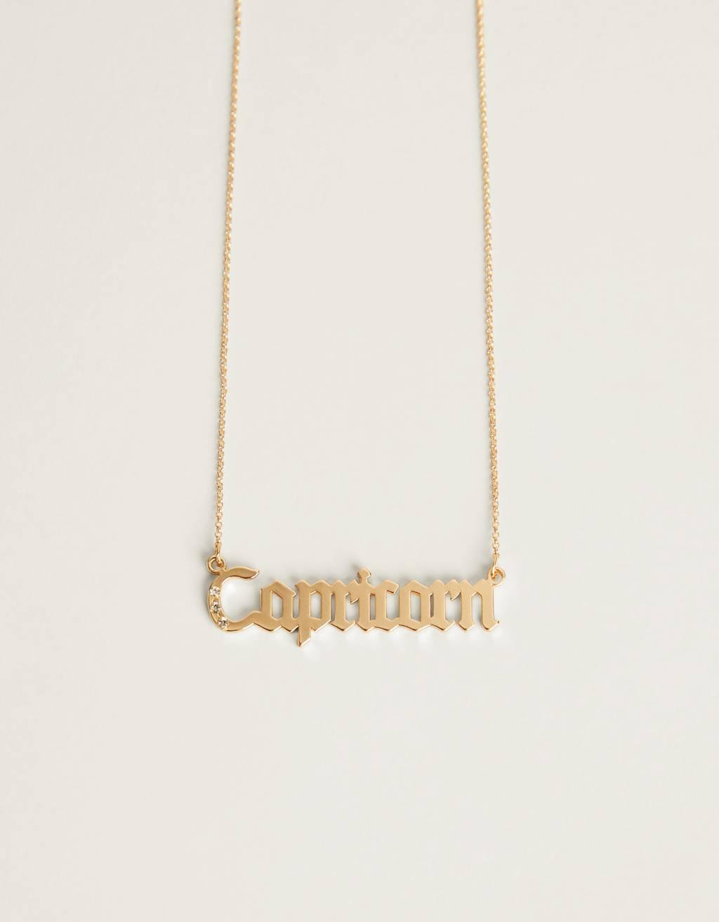 Collaret zodíac Capricorn