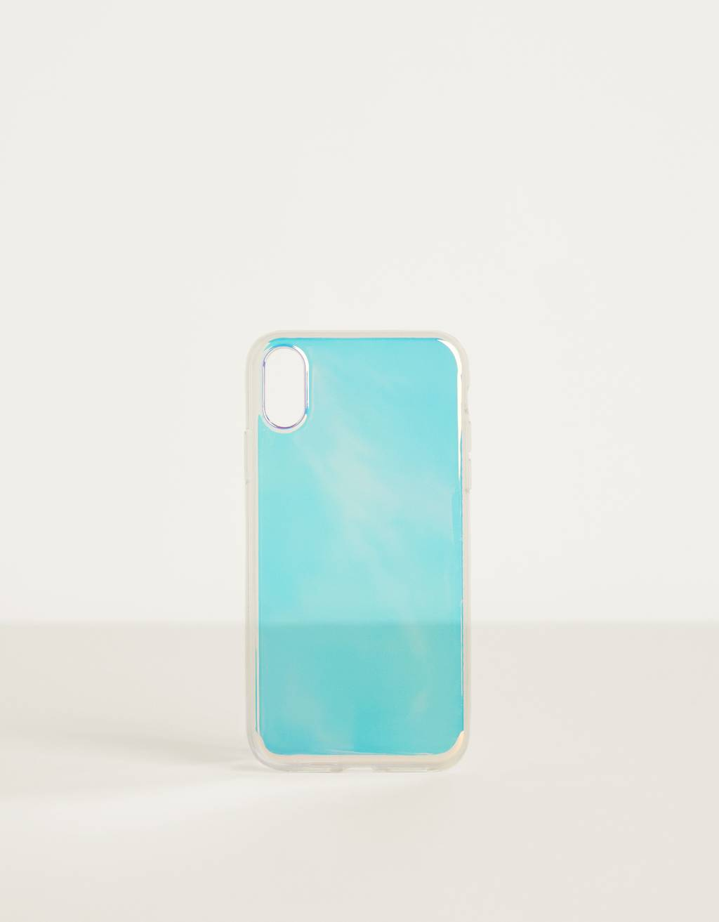 Iridescent iPhone XR case