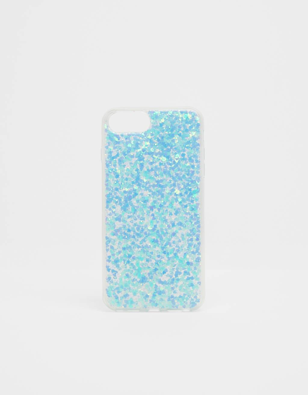 Capa glitter iPhone 6 plus/6S plus/7 plus/8 plus