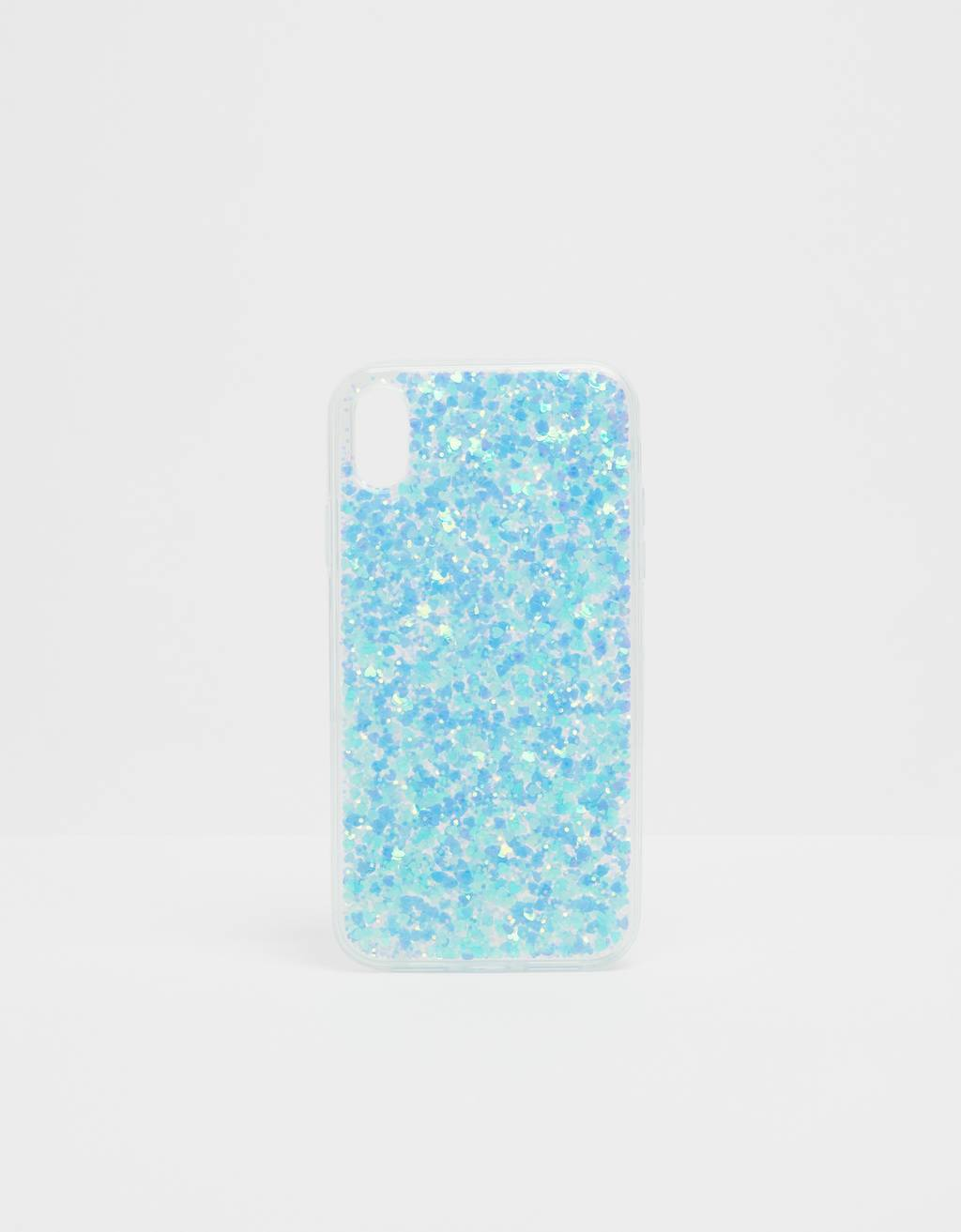 Glitter iPhone XR case