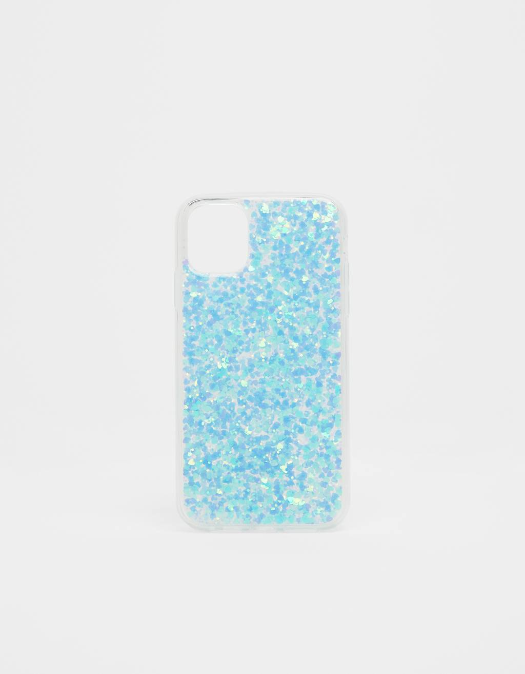 Capa glitter iPhone 11