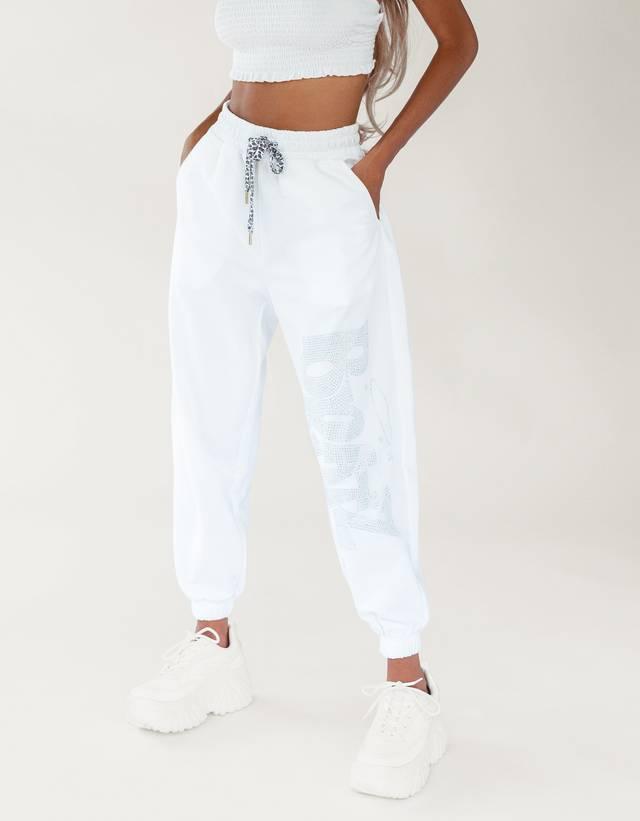 Pantalon Jogger Bratz Mujer Bershka