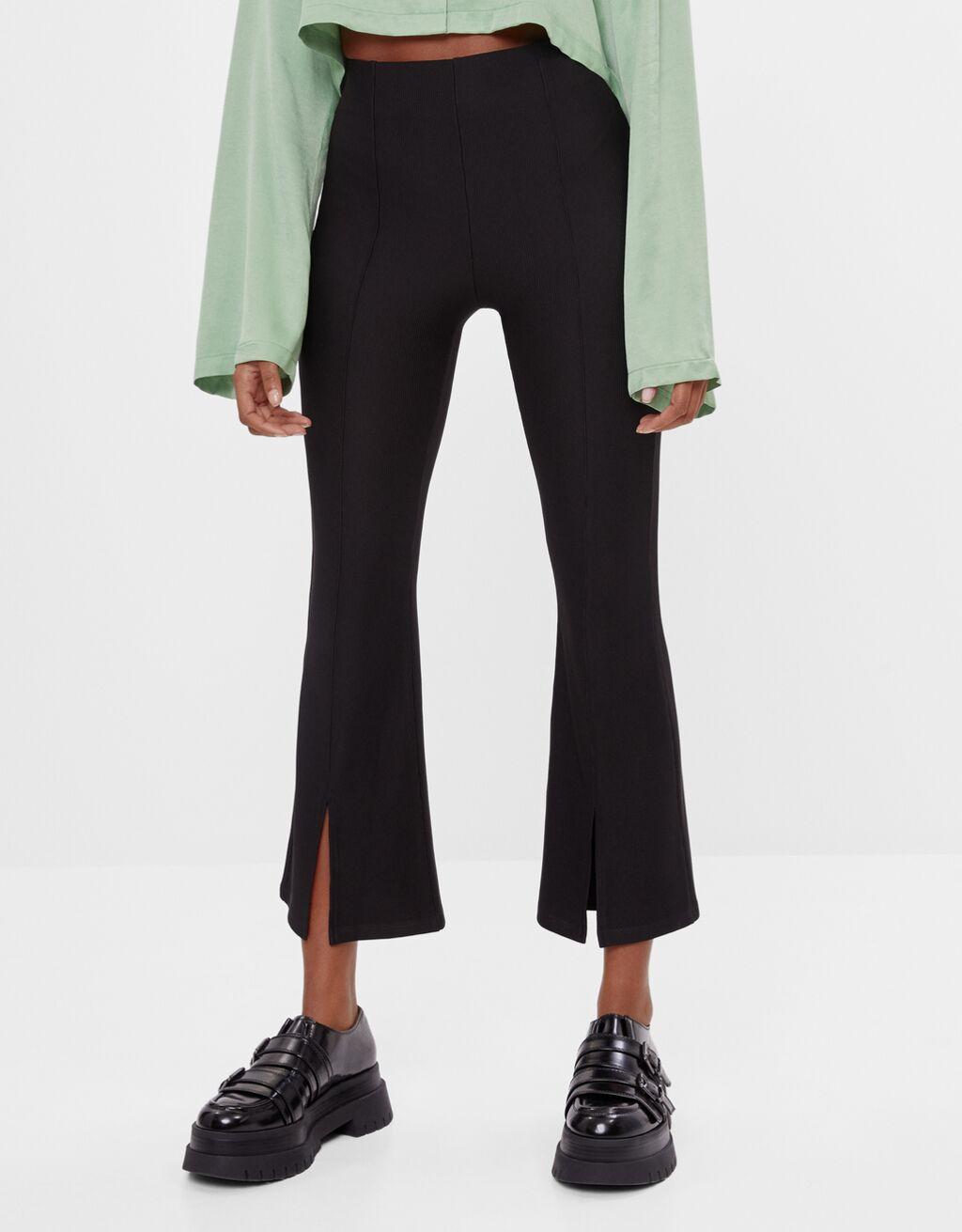 Kick Flare Ottoman trousers