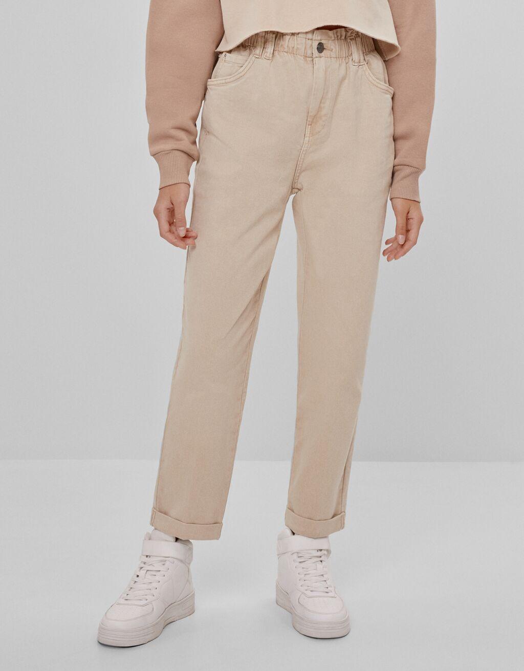 Pantalón cintura elástica