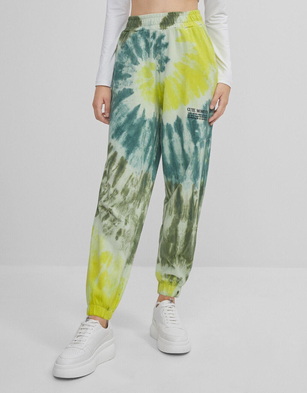 Tie-dye joggers