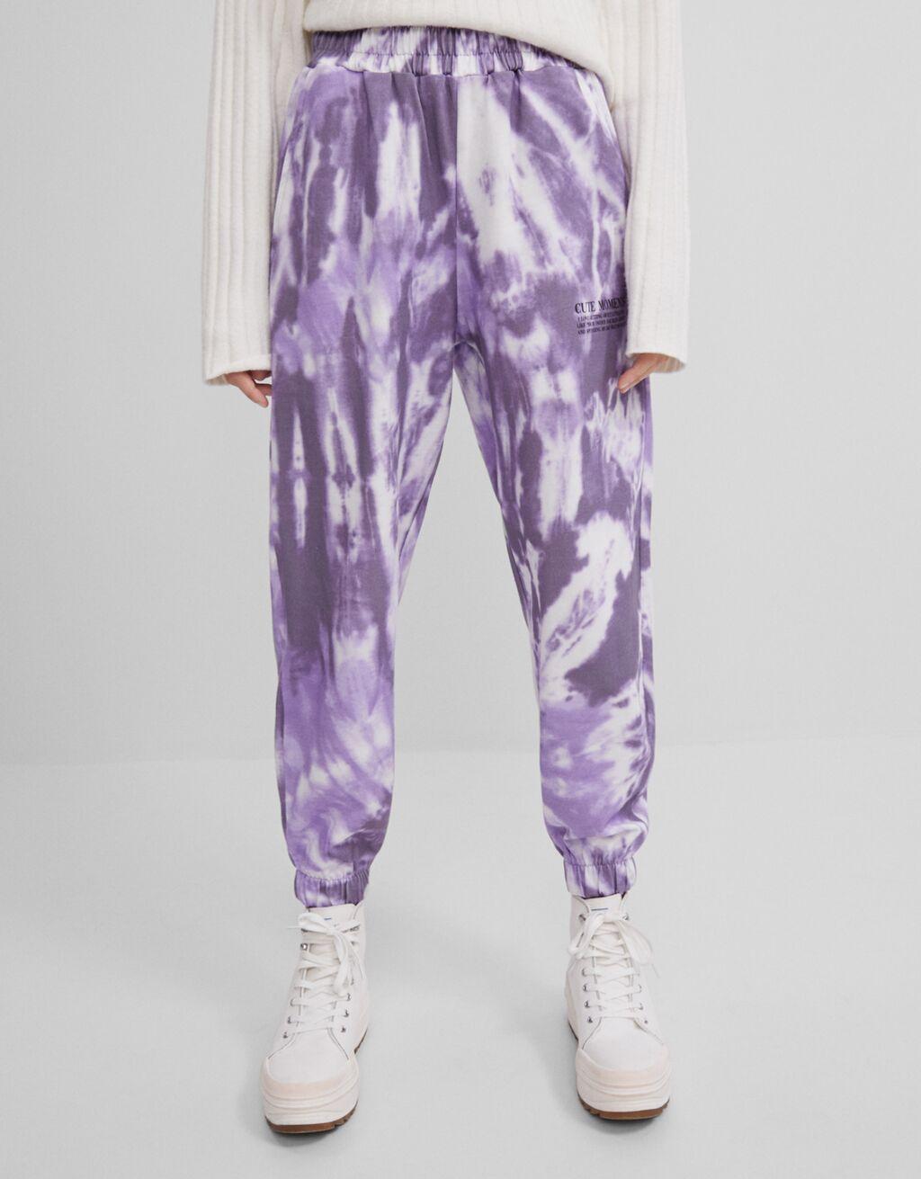 Tie dye jogger hlače