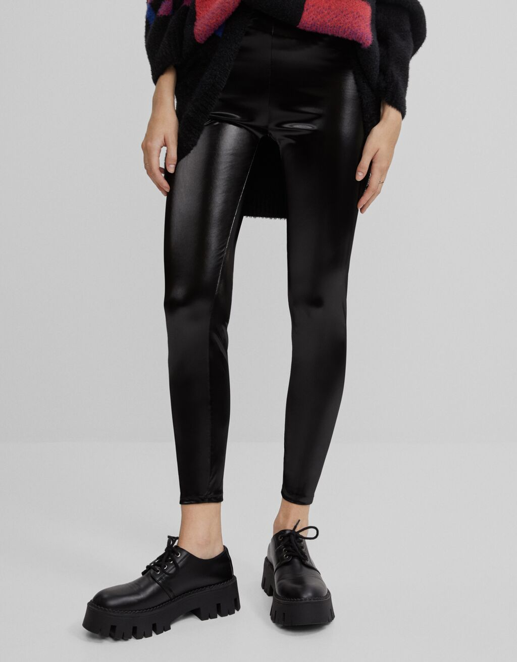 Legging vinilo-Negro-0