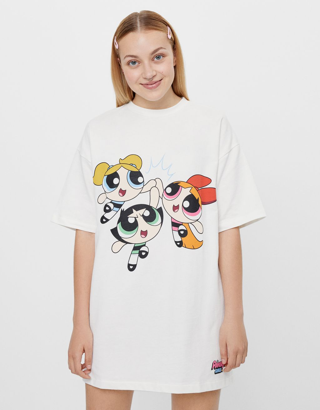 Robe T-shirt Les Super Nanas