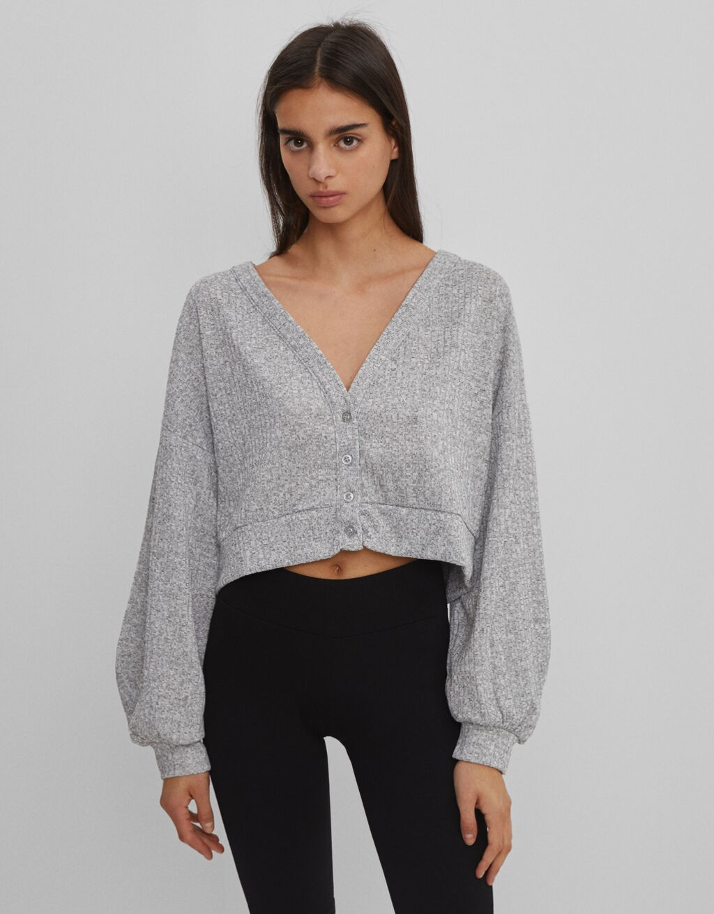 Lightweight marl cardigan